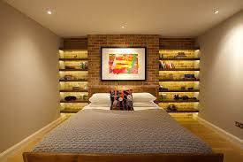 cozy bedrooms with brick walls