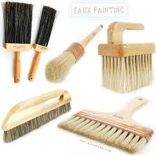 Wood Grain Faux Finishes Resources badger blending brushes
