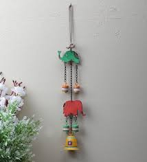 hand crafted wall hanging elephant