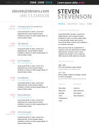 Smart Resume Unique Html Resume Templates