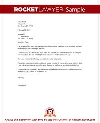 Certified Letter Landlord The Best Letter