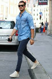 Light Blue Jeans Men S Style 7 Amazing Street Style Looks For Men Lifestyle By Ps