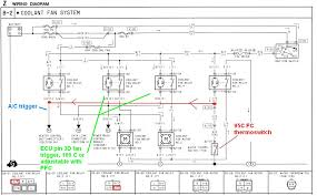 wiring diagram for electrical radiator fan the wiring diagram taurus sho 2 speed 4500cfm electric radiator fan rx7club wiring diagram