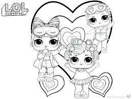 I Love You Baby Coloring Pages New Free Printable Lol Surprise Dolls