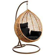 egg hanging chair ikea with black cushion seat and stand for home furniture  ideas