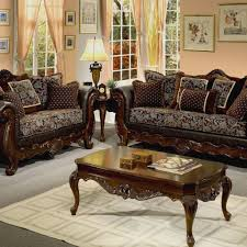 rustic wooden sofa design. Contemporary Rustic LIVING ROOM Wooden Sofa Luxury Living Room Furniture Dark Brown  Pattren With And Carved Table Rustic Design O
