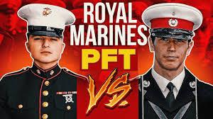 u s marine attempts royal marines fitness test redemption