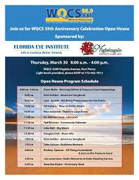 wqcs npr for the treasure coast join us for the wqcs 35th anniversary celebration open house