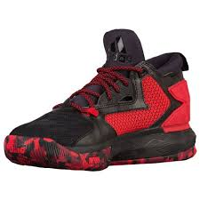 adidas basketball shoes damian lillard. adidas d lillard 2.0 men\u0027s basketball shoes damian black/ray red/white