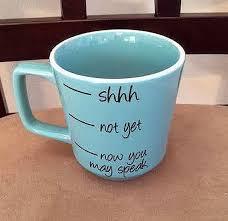 Coffee Cup Coffee Mug Light Blue Coffee Cup by SaidInStoneOnline. Pottery Painting  Ideas ...