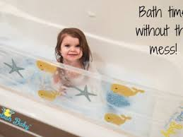 the splash baby the first bathtub water guard for kids