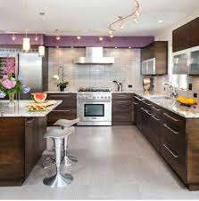 track lighting kitchen. Kitchen Track Lighting Ideas With Modern Furniture And Led .