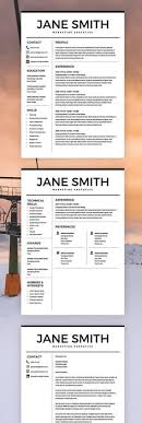 Minimalist Resume Template Free Download Best of Nurse Resume Template Medical Cv CV Template Free Cover Letter