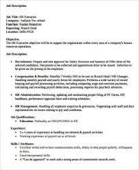 Payroll Specialist Job Description Prepasaintdenis Com