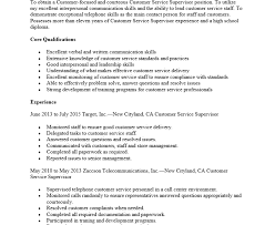 Service Manager Resume Sample Customer Services Manager Operation