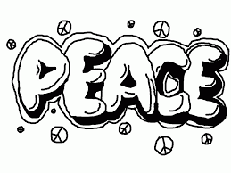 Small Picture Graffiti Words Coloring Pages For Kids And For Adults Coloring