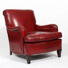leather club chairs vintage. Pipe, Wide Brimmed Hat, Slippers By The Chair, Just A Few Images Evoked. Arts And Crafts Comfy Vintage Red Leather Club Or Armchair Chairs R