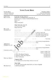 Simple Job Resume Format And Linux System Administrator Resume