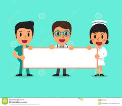 nurses cartoon pictures. Delighful Nurses Cartoon Doctor And Nurses Holding Board For Presentation And Nurses Pictures R