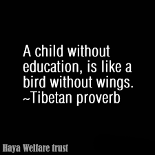Educational Quotes Gorgeous Haya Welfare Trust Educational Quotes