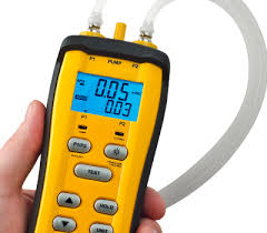 gas manometer. sdmn6 - dual port manometer and pressure switch tester gas