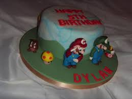 This super mario brothers birthday cake i did for my fiancee's nephew's 5th birthday party. Super Mario Bros Birthday Cake Cake By Christine Cakesdecor