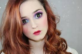 do how to look tutorial doll makeup hollysamanthaa eye