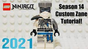 LEGO Ninjago Season 14 Zane Minifigure Tutorial - 2021 Custom Minifigure -  YouTube