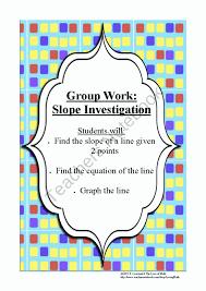 find the slope equation of a line