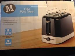 Morrisons Kitchen Appliances Morrisons Two Slice Black Toaster With Bun Warmer In Newcastle