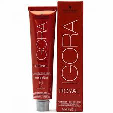 Schwarzkopf Igora Royal Permanent Color Creme 2 1 Fl Oz 60 G