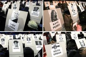 Grammys 2017 Seating Chart The Grammys Release Star Studded Seating Chart That Grape