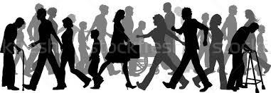 People Walking Vector Illustration Kirsty Pargeter Kjpargeter