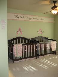 baby room ideas for twins. Twin Baby Room Ideas | The Decorations She Gathered At Various Discount Stores Add Lots Of . For Twins N