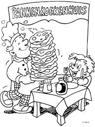 Kleurplaten Eten