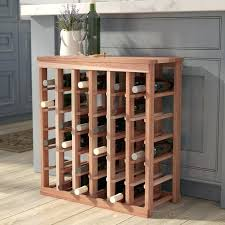 Wine Rack Table Redwood Table Top Bottle Floor Wine Rack Wine Rack