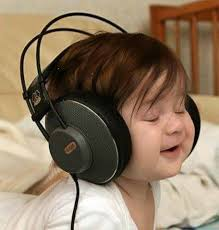 Image result for caricature of man with big ears listening to music