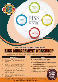 Risk Management Workshop Society For Quality In Health