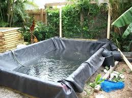 build koi ponds water garden no dig diy koi pond bio filter build koi ponds