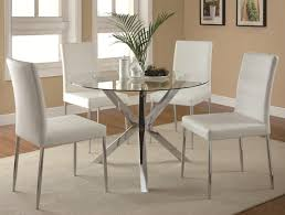 coaster vance 5 piece table chair set item number 120760 4x120767wht