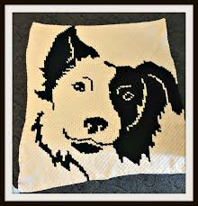 Border Collie Knitting Chart Browse Bordercolliecrochetpattern Images And Ideas On Pinterest