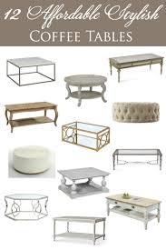 12 affordable coffee tables designthusiasm com