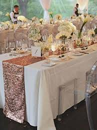 interior remarkable rose gold sequin table runner wedding event party runners for ideas diy wedding table