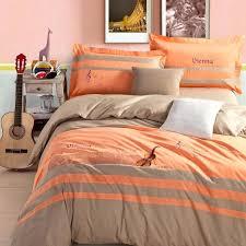 orange comforter full amazing gray and orange comforter set grey sets orange bedding sets prepare