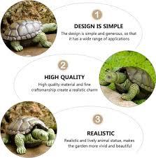 turtle garden figurine resin tortoise