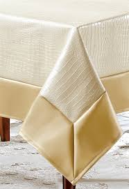 faux leather tablecloth
