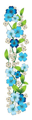 Small Picture Images About Design Inspiration On Pinterest Floral Blue Flower