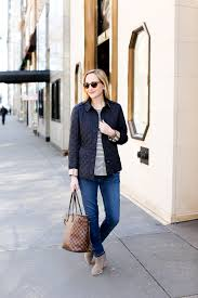 On Investment Pieces - Kelly in the City & Burberry Quilted Navy Jacket Ashurst-11 Adamdwight.com