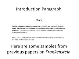 essay topics for frankenstein essay on frankenstein long s english classes