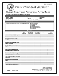 Employee Performance Evaluation Goals 10 Samples And